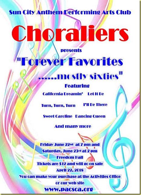 Choraliers Jun 2018